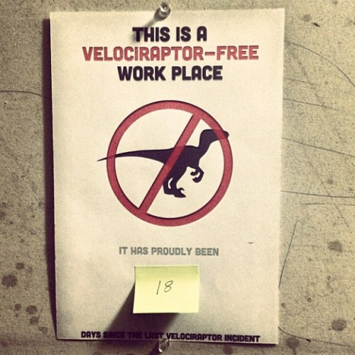It's good to have rules in an office. (Taken with Instagram at Gradient Productions)