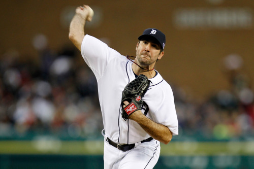 Justin Verlander settles down after leadoff homer to lift Tigers