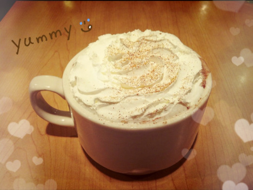 babymaybear:  Gingerbread Hot Chocolate(^ν^)