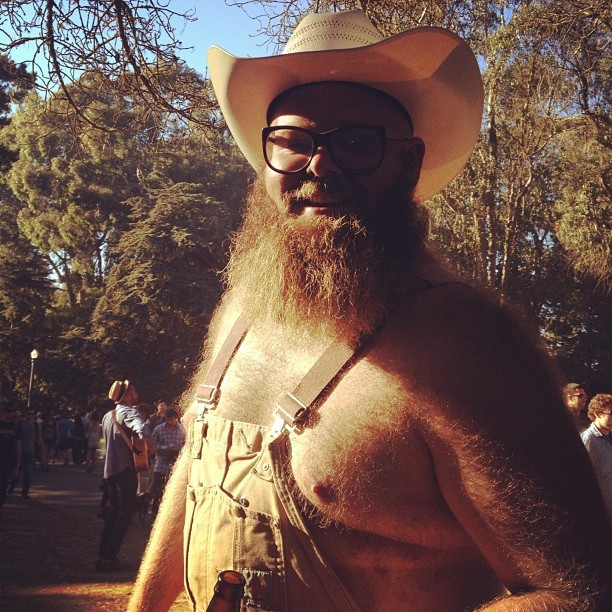Everyday people.  (Taken with Instagram at Hardly Strictly Bluegrass Festival)