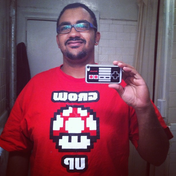 Though i hope i never do 😛 #nerdom #supermario #nintendo #nes (Taken with Instagram)