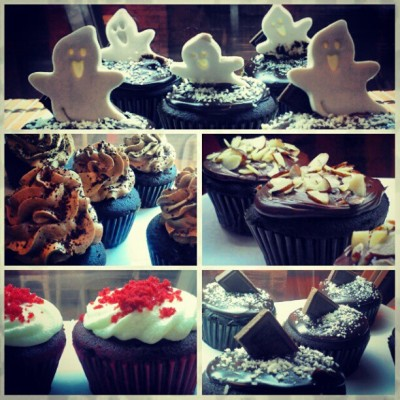 halloween cupcakes!!! (Taken with Instagram at The Bean Connection)