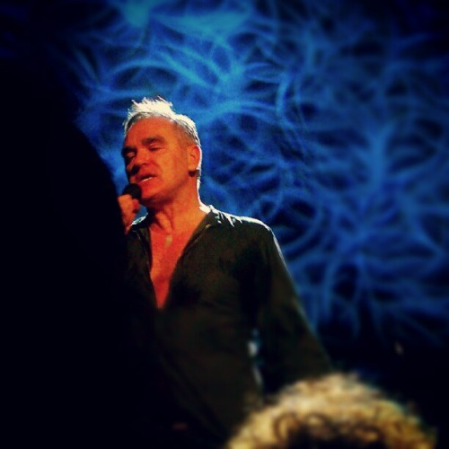 #Morrissey #Moz (Taken with Instagram at Palace Theater)