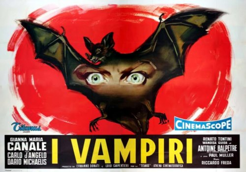 "(via 13: I VAMPIRI - Mario Bava - aka ""The Vampires"" - ""Lust Of The Vampire"" - ""The Devil's Commandment"" (1956))"