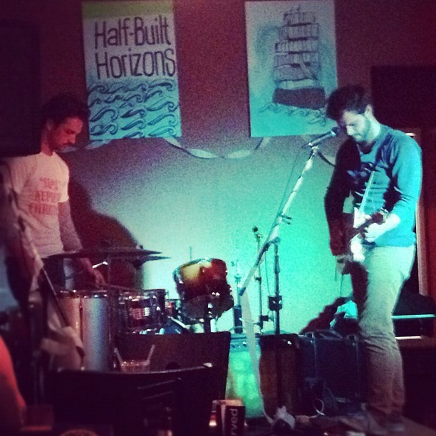 The Undrummer on at Half built horizons release right now in Oshawa! (Taken with Instagram)