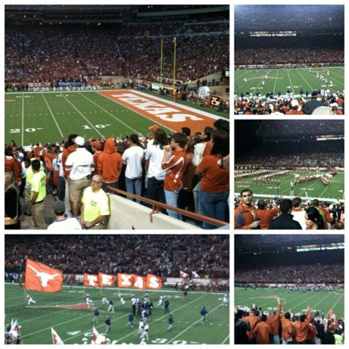 my first Texas game!!  dat texas prideeeeee  #Texas #longhorns #football #welostbutitwasstillfunlol #nofilter (Taken with Instagram)