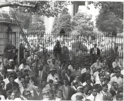 "collective-history:  Community Protesters Outside the Gate at Girard College, 1965, John Franklin Photograph Collection, African American Museum of Philadelphia.  Following the Supreme Courts' Brown v. Board decision ending de jure segregation in all public school systems, Philadelphia moved slowly to carry out the court's ruling. In the public schools, several actions by the School Board including moving Northeast High School out of North Philadelphia, furthered segregation and limited opportunities for African-Americans children. In another public arena, the admissions policy of Girard College became one of the significant tests of school segregation in the City of Philadelphia. In his will dated February 16, 1830, Stephen Girard, a wealthy Philadelphia merchant, stipulated the establishment of a school for white males between six and eighteen years of age. Under the will, Girard having ""sincerely at heart the welfare of the City of Philadelphia"" left the principal part of his estate to ""the Mayor, Alderman and citizens of Philadelphia, their successors and assigns"" money for a number of charitable purposes of which the school was one. The purpose of these gifts was to foster ""the prosperity of the City, and the health and comfort of its inhabitants."" At the time of Girard's death, Philadelphia had fewer than 9,900 black inhabitants, who under then existing law had their citizenship rights decimated by regressive state legislation. In January 1848 the Girard College opened for the education of white male orphans. Although not part of the Philadelphia public school system, Girard College was administrated by the Board of City Trusts on behalf of a public entity that is required to abide by federal laws. The first plaintiffs to seek admission at Girard College were represented by Raymond Pace Alexander, a distinguished African American attorney and member of Philadelphia City Council. They held that the College presented itself as an institution that was ""municipal in nature"", namely a public boarding school or orphanage. They further asserted that because the State associated with the school, the College's racial discrimination was unconstitutional. Mayor Joseph Clark and City Council President James Finnegan, both ex-officio members of the Board of City Trusts, tried to persuade the Girard College board to admit the young men and seek a later decision by the courts. However, the other board members did not agree and maintained Girard's will superseded as well as antedated both the Brown decision and the 14th Amendment to the Constitution. Lengthy litigation ensued through state and federal courts in Pennsylvania. By the mid-1960's this dispute produced tremendous public agitation in the community and resulted in numerous civic demonstrations outside of the Girard College ""wall"". More than thirteen years after Brown, a final ruling and affirmation by the Supreme Court of the United States found that Girard's will was superseded by the Brown decision. The school's trustees were ""permanently enjoined from denying admission of poor male orphans on the sole ground that they are not white, provided they are otherwise qualified for admission"". The first African American students were eventually granted admission to the school in 1968."