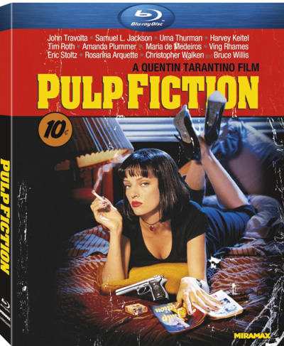 gamefreaksnz:   Pulp Fiction [Blu-ray] (1994) Nominated for 7 Academy Awards including Best Picture and Best Director, Pulp Fiction packs the punch like an adrenaline shot to the heart.  List Price: $19.99       Sale Price: $11.39     You Save: $8.60 (43%)