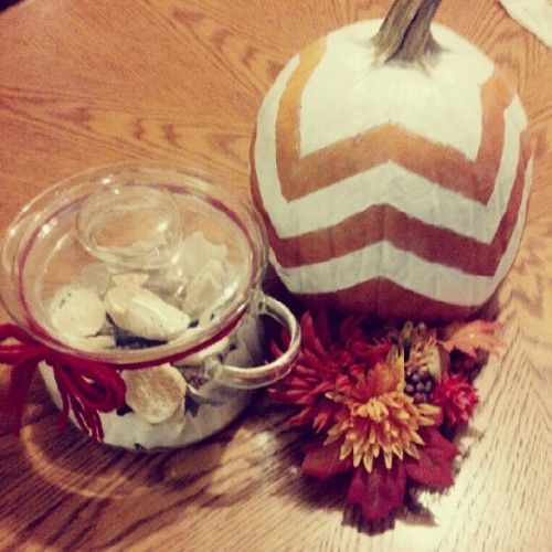 Little project I did today. I love Autumn and all the little crafts I can do with this season.