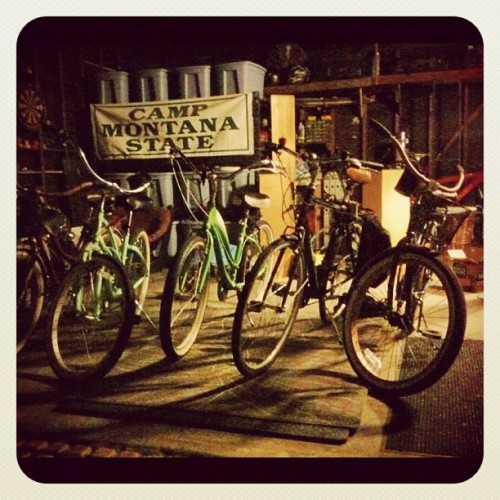 Twas the night before CicLAvia, and all through the house the bikes were prepped!  Let the ride begin! #ciclavia #la #bike  (Taken with Instagram)