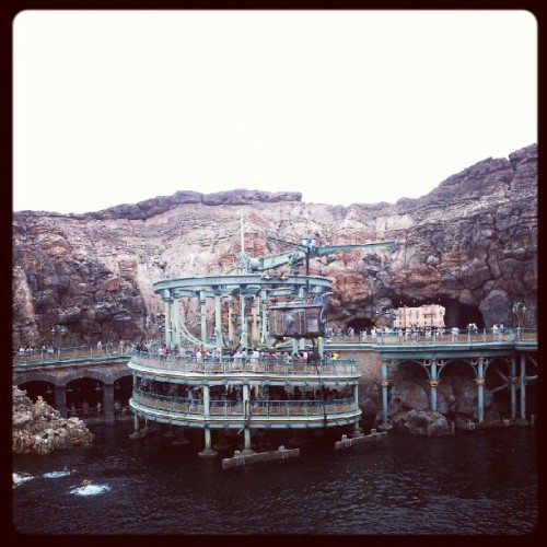Disney Sea has Steampunk on lockdown. (Taken with Instagram)