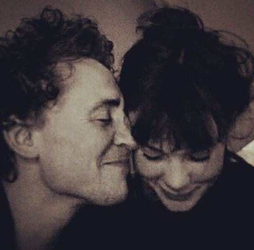 Tom with mystery girl. WUT?? Tom Hiddleston and FRIEND Carey Mulligan.