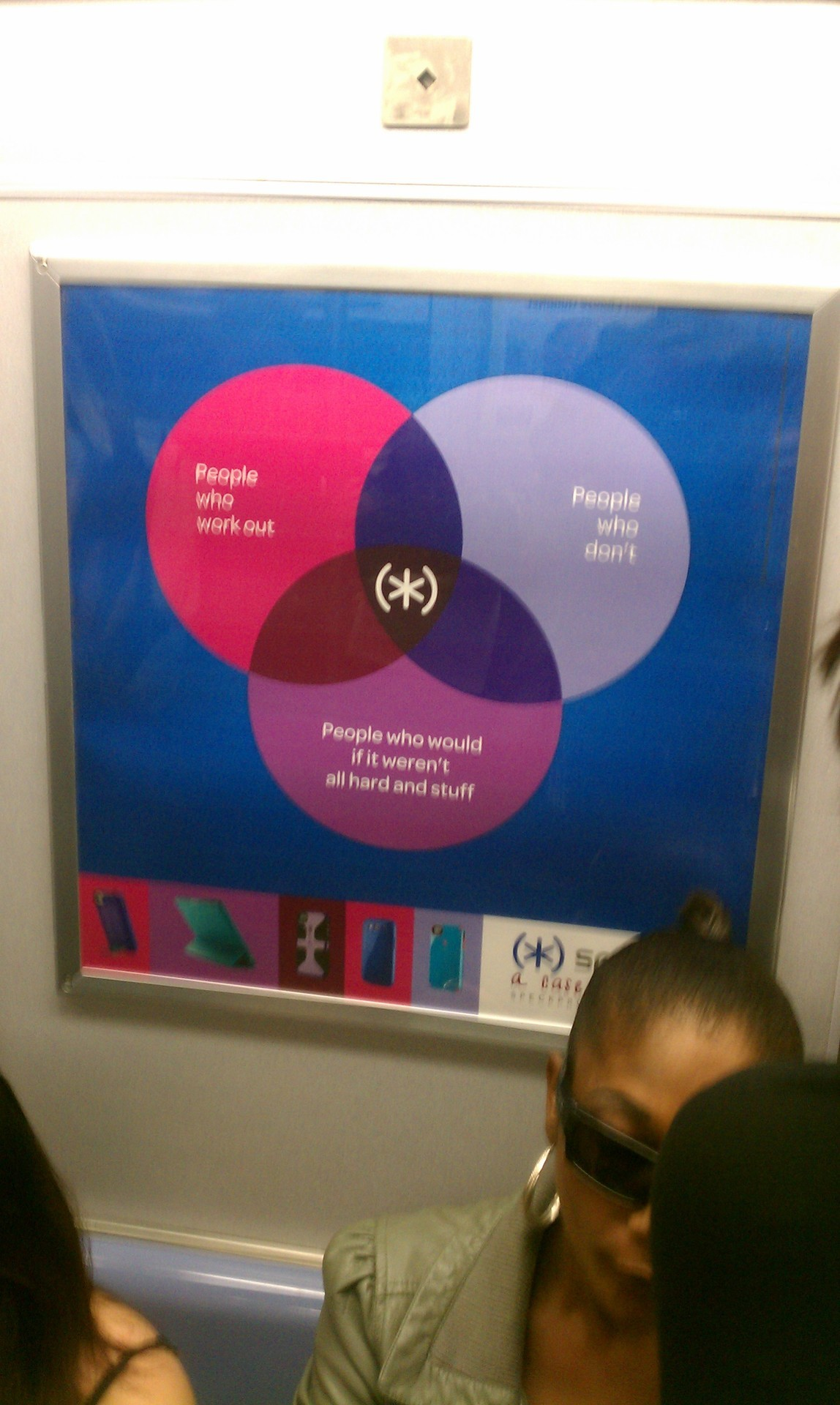 The foolishness in this chart is palpable. Seen on the R train in New York City -legallyblindobservations More of this nonsense.