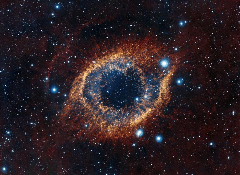 n-a-s-a:  The Helix Nebula from the VISTA Telescope  Credit: ESO/VISTA/J. Emerson