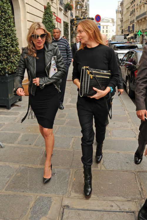 Love this photo! 2 of the biggest style icons together: Kate and Stella!