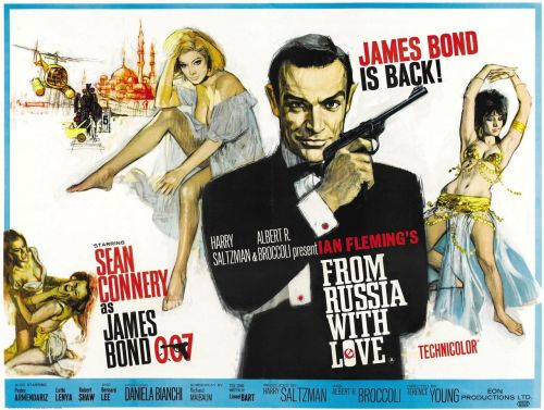 jersonordavid:  365 Films Challenge: 302/365 From Russia With Love  From Russia With Love.
