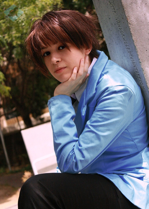 insaneghoul:  Ouran High School Host Club: Haruhi Fujioka by *VandorWolf