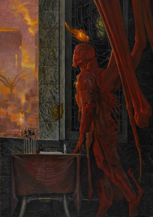 art by Wayne Barlowe