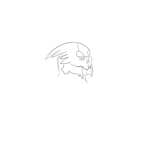 taylorvasnormandy:  I drew a grumpy garrus what do with him