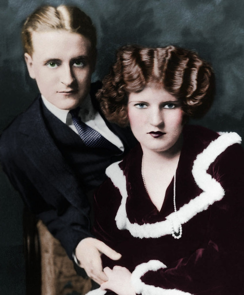 F. Scott and Zelda Fitzgerald by ~xihearthe80sx