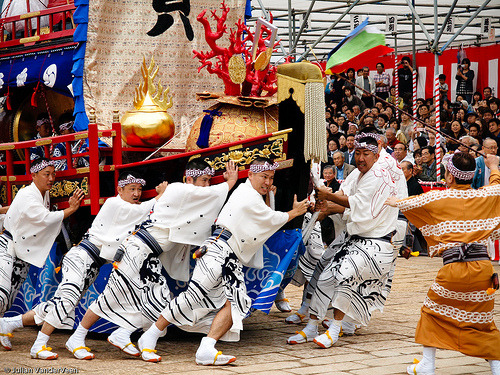 This unusual Japanese festival is half Chinese and double Dutch… Held as one of the most unusual festivals in Japan, Okunchi (or Kunchi) Festival in Nagasaki dates back to the 17th century, when many  Dutch and Chinese traders regularly anchored their ships there. More on the Okunchi Matsuri by Somewhere in the world today… Picture: Okunche festival 2009 by PermanentTraveller on Flickr