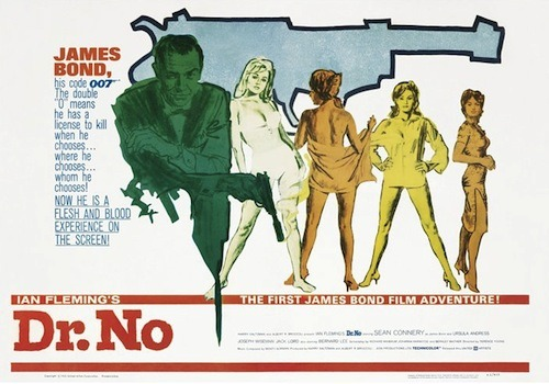 dr no james bond poster