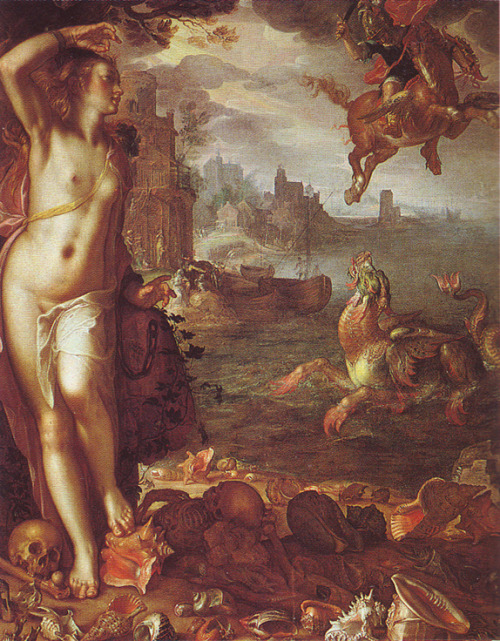 no-secret-sphinxes:  Perseus and Andromeda, Joachim Wtewael, 1611  good God in heaven