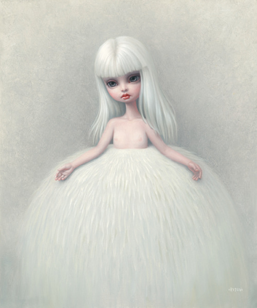 Girl in a Fur Skirt by Mark Ryden