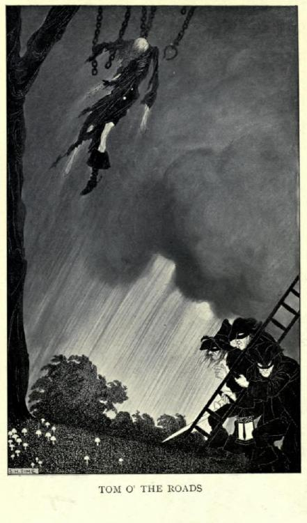 """Tom O' the Roads"" by Sidney Sime"