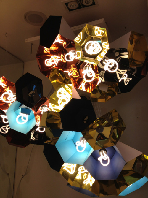 Plumen Chandelier,  Dezeen store, London