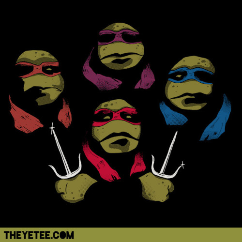 "The Yetee: ""Yetee Recall: Ninja Rhapsody"" by Hillary White."