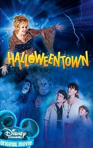 Halloweentown (1998)  Marnie, Dylan, and Sophie Piper have their first out of many adventures! On Halloween, while Marnie is arguing with her mother Gwen, the kids' grandmother Aggie comes to visit. Aggie wants to start Marnie's witch training before her 13th birthday or Marnie will lose her powers forever. But there is another reason for Aggie's visit. Something dark & evil is growing in Halloweentown & Aggie wants help to defeat it. While Aggie & Gwen are arguing, Aggie uses magic which Marnie observes. After Aggie leaves to return to Halloweentown, Marnie, Dylan and, unknown to Marnie and Dylan, Sophie follow her onto the return bus. Soon afterwards, Gwen follows the children to Halloweentown. While there, Aggie & Gwen are attacked by the dark force in a movie theater. Marnie, Dylan & Sophie race to get the ingredients to activate Merlin's Wand to stop the evil.  Cast: Kimberly J. Brown, Joey Zimmerman, Emily Roeske Follow this blog for the neverending list of all the teen movies ever made!
