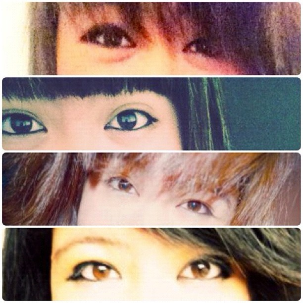 Without eye makeup my eyes are heeeeeeeella chinky. #eyes #eyemakeup #pastphotos #october #photoaday #photochallenge #photoadaychallenge #2012 #day6 #chinky #asian #filipino #love #selfie #affairs  (Taken with Instagram)
