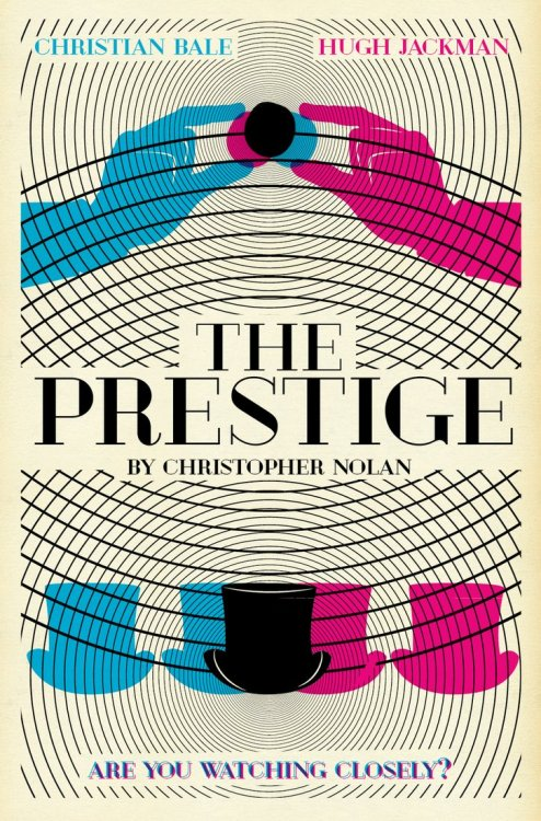 minimalmovieposters:  The Prestige by garrettross