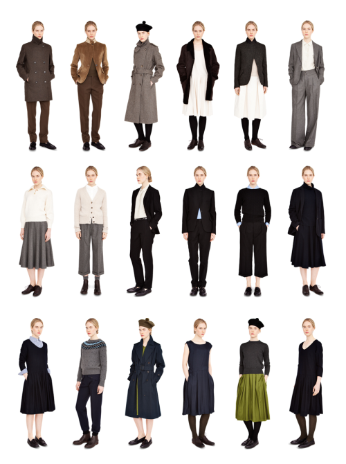 Margaret Howell Autumn Winter 2012 Collection  Looks like a collection for Daina, no?