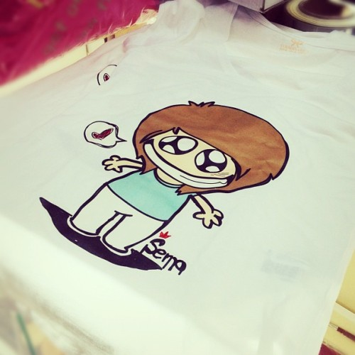 My T shirt ✌😜 (Taken with Instagram)