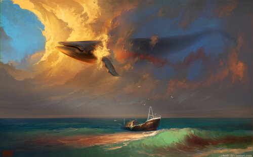 urhajos:  Sorrow For Whales by *RHADS