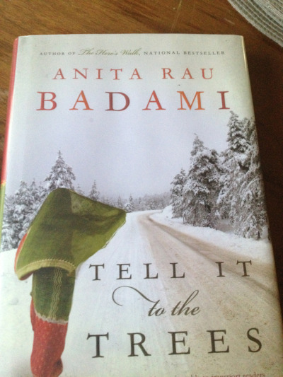 13/26 #26in2012 Tell It To The Trees by Anita Rau Badami (better get my push on for the end if the year!!)