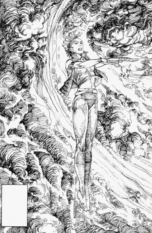 Storm by Barry Windsor Smith #Ororo
