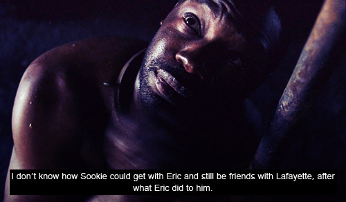 And what exactly Eric did that you don't seem to get confessor? He's the Sheriff of Area 5 and selling V is a great offense for vampires. Lafayette knew it very well but still kept selling it. Lala is alive isn't he? And that's because Eric doesn't kill if he's not forced to, like it happened with that redneck in the basement who attacked him. Eric is a fair man, in fact Jason is still walking free even if he killed Eddy. He is well aware Jason is responsable for that but called it even because Jason saved his life in Season 2.