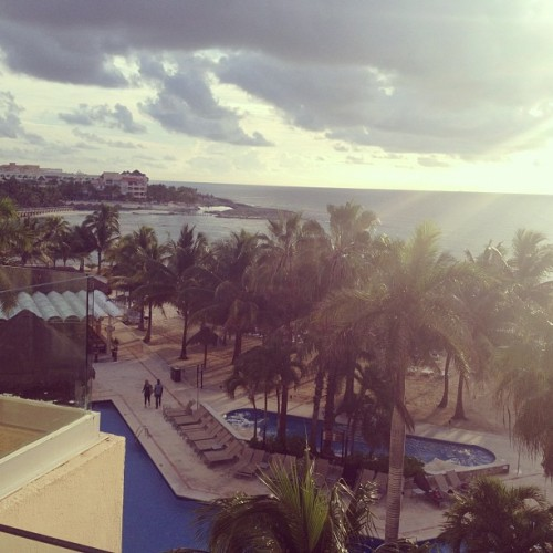 Good bye Mexico. It's been real fun! (Taken with Instagram at Dreams Resort And Spa)