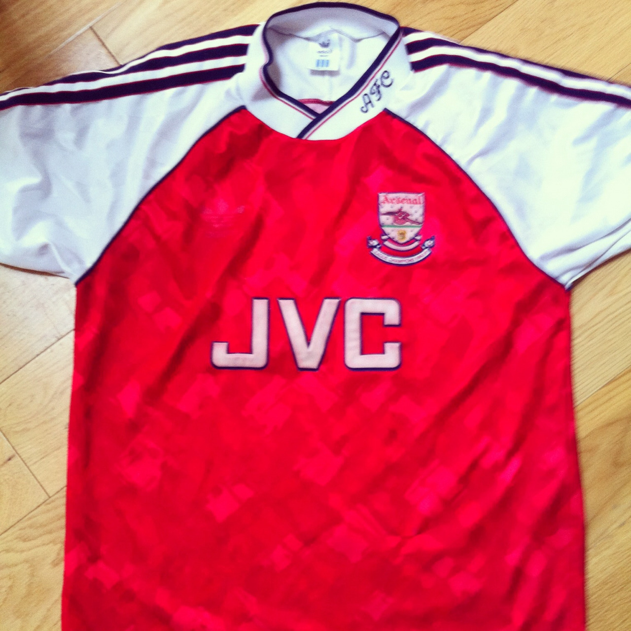 Arsenal, Adidas, 1991 - Arsenal football shirt