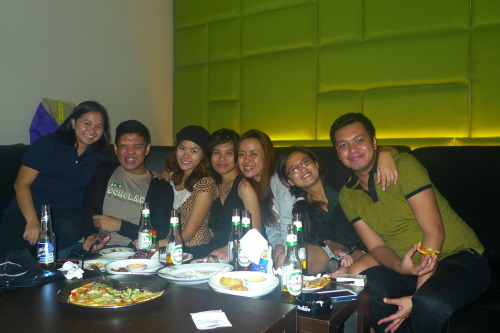 Clingy Videoke Night. Good times :)  *this post will be updated with a folder-link of all pics