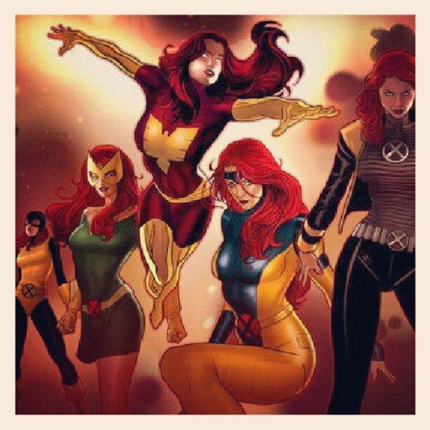 Damn I love Jean #Marvel #Xmen #Comics  (Taken with Instagram)