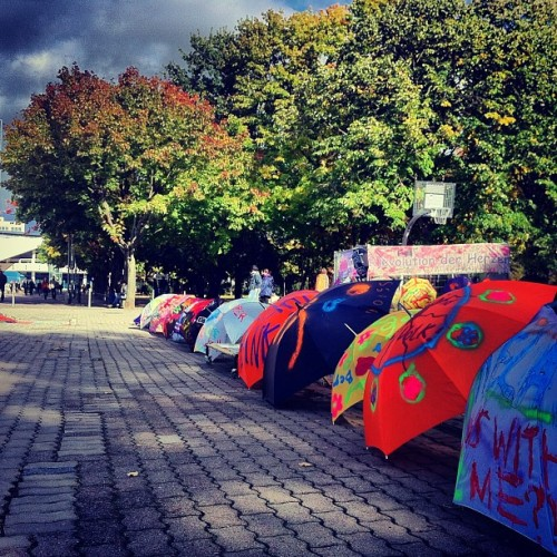 im79:  Protest against the Rain #berlin
