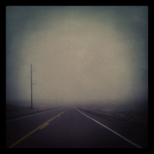 Early morning drive. (Taken with Instagram)