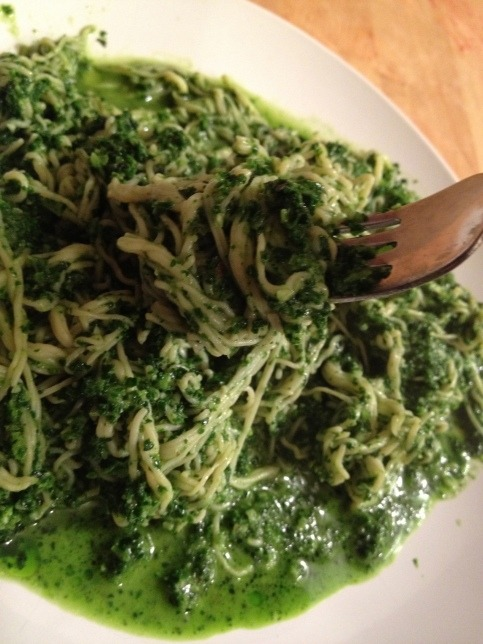(Click here for recipe Perfect Kale Pesto)