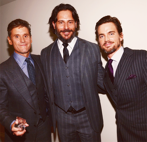 """You are two of the best parents I've ever seen"" - Joe Manganiello (Talking about Matt Bomer and Simon Halls at GLSEN Awards)"