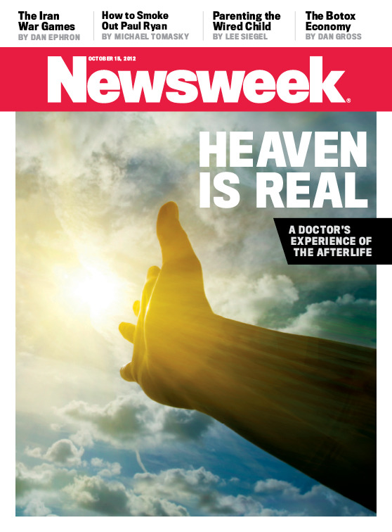 "friendlyatheist:  newsweek:  When leading neurosurgeon Dr. Eben Alexander found himself in a 7-week coma in 2008, he experienced things he never thought possible - exclusively excerpted from his upcoming book Proof of Heaven, he shares his journey to the afterlife in this week's Newsweek.    I hope someone will pick up my new book entitled ""Proof of Dreams"" where I detail how I experienced things I never thought possible while sleeping.  -FA  Just when you think we're making progress."