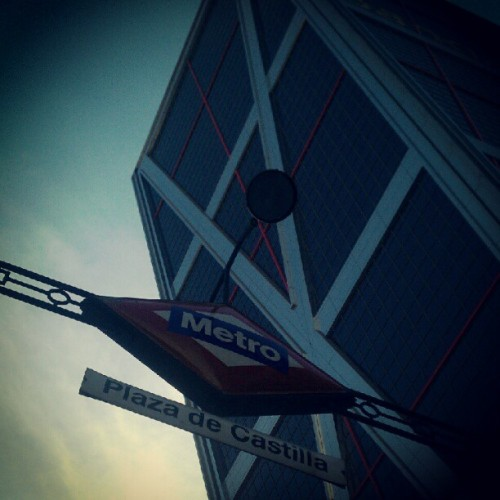 Hi! #Madrid  (Taken with Instagram at Plaza de Castilla)